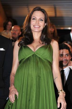 """Angelina Jolie at the premiere of """"Kung Fu Panda"""" during the 61st International Cannes Film Festival."""
