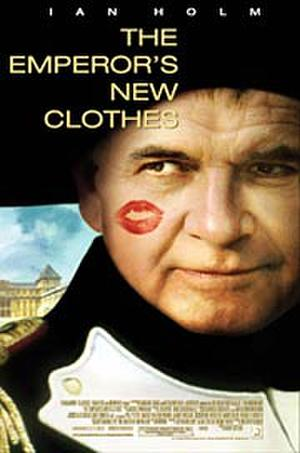 """Poster art for """"The Emperor's New Clothes."""""""