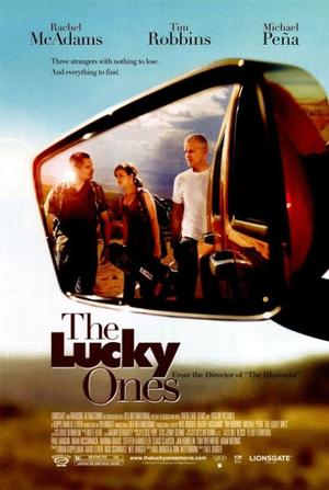 """Poster Art for """"The Lucky Ones."""""""
