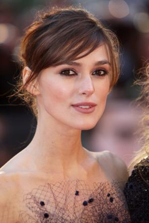 """Keira Knightley at the UK premiere of """"The Duchess."""""""
