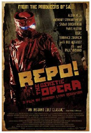 """Poster Art for """"Repo! The Genetic Opera."""""""