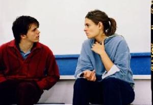 "Marianna Palka and Jason Ritter in ""Good Dick."""