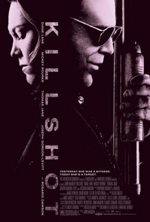 """Poster art for """"Killshot."""""""