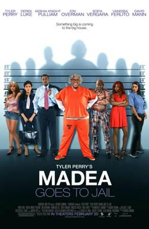 """Poster art for """"Tyler Perry's Madea Goes to Jail."""""""