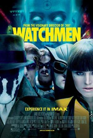 "Poster art for ""Watchmen."""