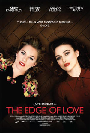 "Poster art for ""The Edge of Love."""