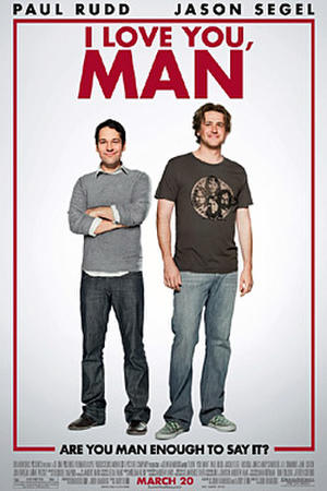 """Poster Art for """"I Love You, Man."""""""