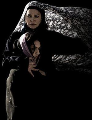 """Promotional art for """"The Stoning of Soraya M."""""""