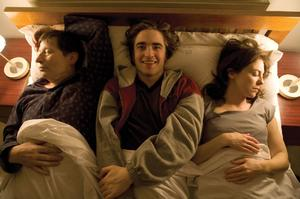 """Michael Irving and Robert Pattinson in """"How to Be."""""""