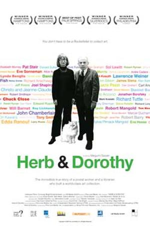 "Poster art for ""Herb & Dorothy."""