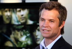 "Timothy Olyphant at the California premiere of ""A Perfect Getaway."""