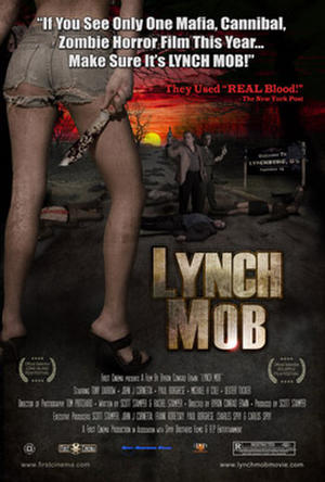 "Poster art for ""Lynch Mob."""