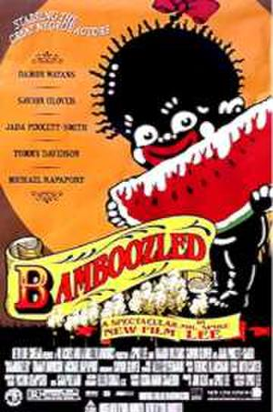 """Poster art for """"Bamboozled."""""""