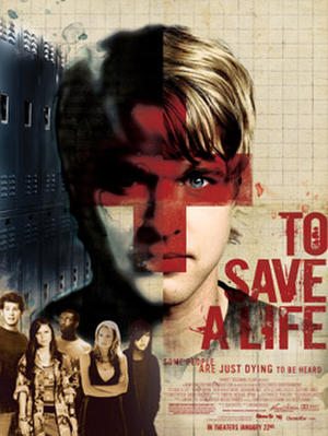 """Poster art for """"To Save a Life."""""""