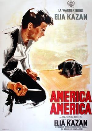 """Poster art for """"America, America."""""""