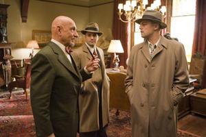 "Ben Kingsley, Mark Ruffalo and Leonardo DiCaprio in ""Shutter Island."""