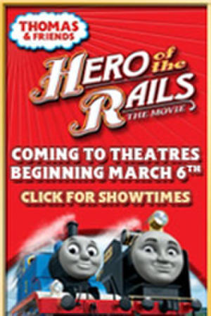 "Poster art for ""Thomas & Friends: Hero of the Rails."""