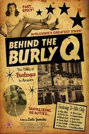 """Poster art for """"Behind the Burly Q."""""""