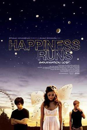 "Poster art for ""Happiness Runs."""