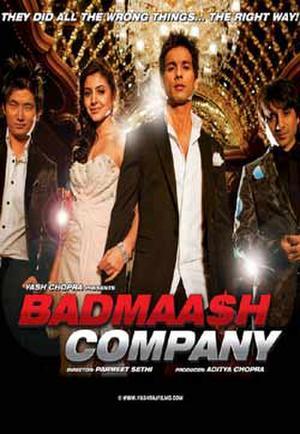 "Poster art for ""Badmaash Company."""