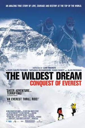 "Poster art for ""The Wildest Dream: Conquest of Everest."""