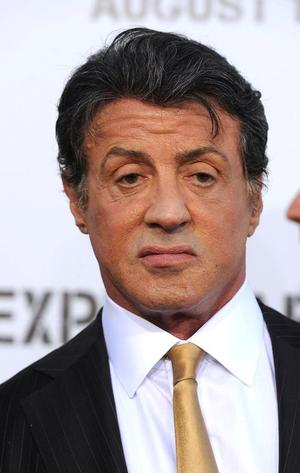"""Sylvester Stallone at the California premiere of """"The Expendables."""""""