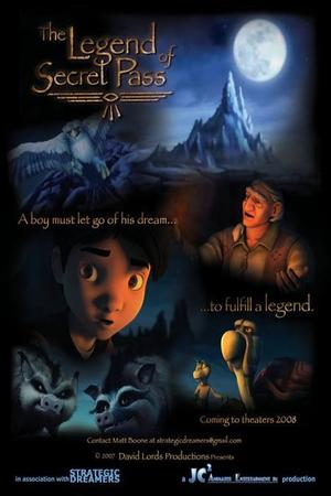 "Poster art for ""The Legend of Secret Pass"""