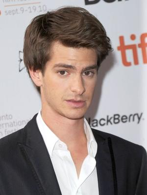 """Andrew Garfield at the Canada premiere of """"Never Let Me Go."""""""