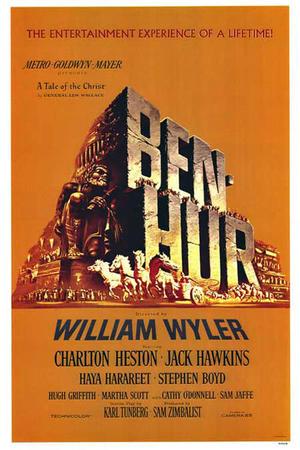 """Poster art for """"Ben Hur."""""""