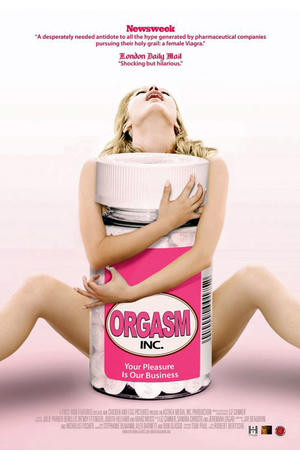 "Poster art for ""Orgasm Inc."""