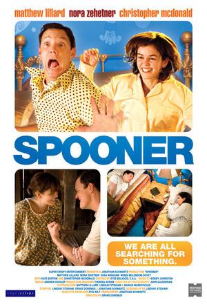 """Poster art for """"Spooner."""""""