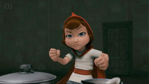 "Red in ""Hoodwinked Too! Hood vs. Evil."""