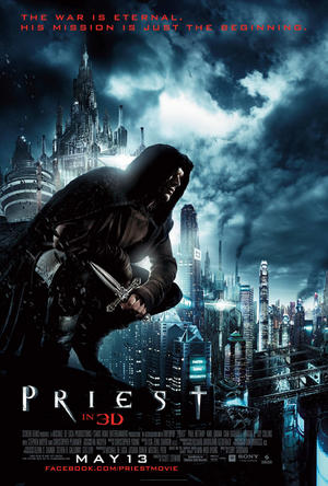 """Poster art for """"Priest."""""""