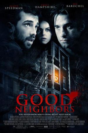 """Poster art for """"Good Neighbors."""""""