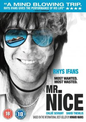 "Poster art for ""Mr. Nice."""