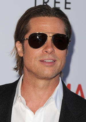 "Brad Pitt at the California premiere of ""The Tree Of Life."""