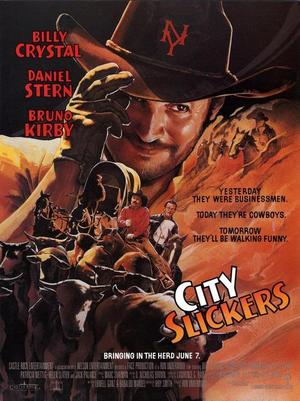 "Poster art for ""City Slickers."""