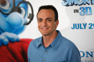 """Hank Azaria at the world premiere of """"The Smurfs."""""""