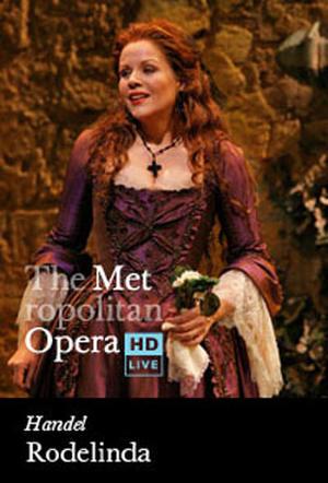 "Poster art for ""The Metropolitan Opera: Rodelinda Encore."""