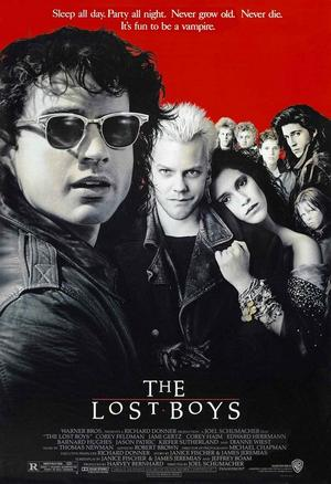 "Poster art for ""The Lost Boys."""