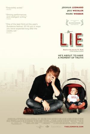 """Poster art for """"The Lie."""""""
