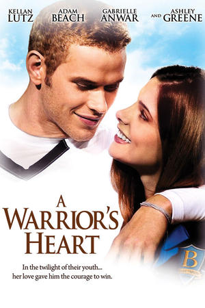 "Poster art for ""A Warrior's Heart."""