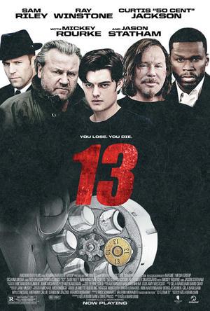 """Poster art for """"13."""""""