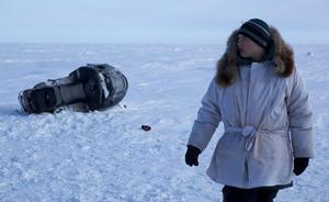 "Josiah Patkotak in ""On the Ice."""