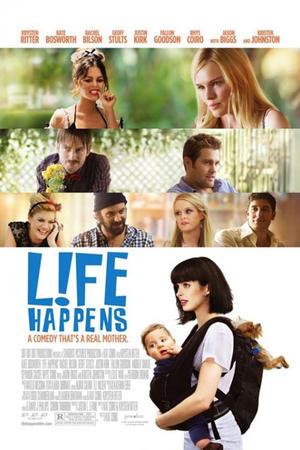 "Poster art for ""L!fe Happens."""