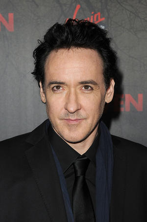 "John Cusack at the California premiere of ""The Raven."""