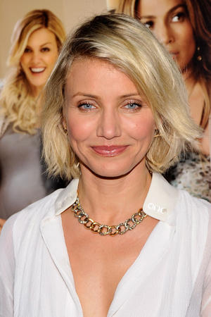 "Cameron Diaz at the New York premiere of ""What to Expect When You're Expecting."""