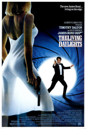 """Poster art for """"The Living Daylights."""""""