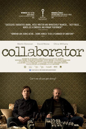 """Poster art for """"Collaborator."""""""