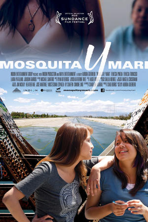 "Poster art for ""Mosquita y Mari."""